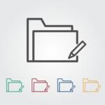 受信トレイや送信済みアイテムなどのフォルダが表示されない【Outlook】